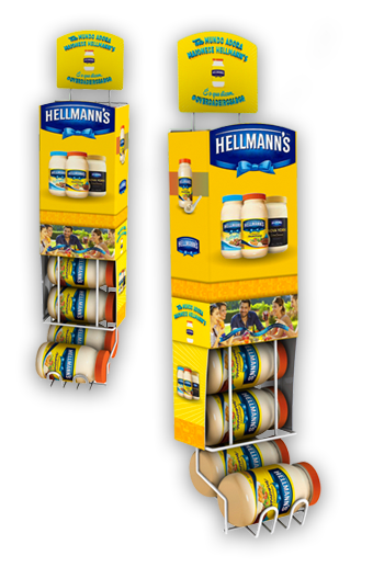 Display Cross Hellmanns